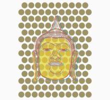 Buddha's Smile Zen Pop Art Baby Tee