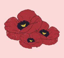 Poppy White One Piece - Long Sleeve