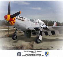 "North American P-51 ""Old Crow"" by A. Hermann"