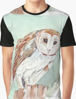 Barn Owl/Nonnetjie-Uil Graphic T-Shirt