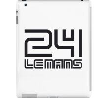 LE MANS iPad Case/Skin