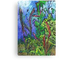 Reeds and Grass, Otmoor Nature Reserve, Canvas Print