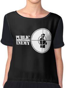 Public Enemy Chiffon Top