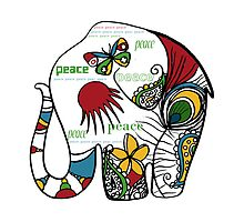 Peace Elephant by © Karin Taylor