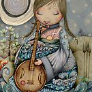 Moon Guitar by © Cassidy (Karin) Taylor