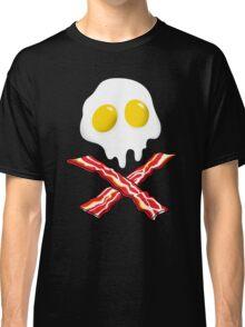 Eggs Bacon Skull Classic T-Shirt