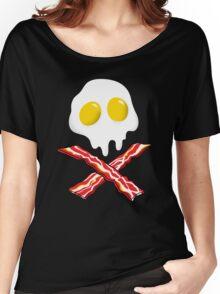 Eggs Bacon Skull Women's Relaxed Fit T-Shirt