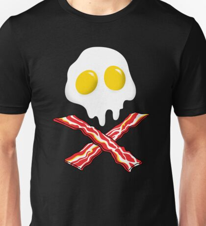 Eggs Bacon Skull Unisex T-Shirt