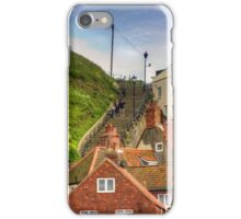 Middle of the Whitby Steps iPhone Case/Skin
