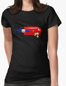 Mario Bullet Womens Fitted T-Shirt