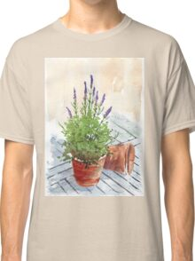 Lavender in a pot Classic T-Shirt
