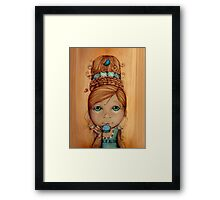 Brand New Hairdo Framed Print
