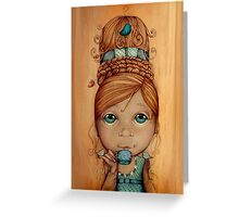 Brand New Hairdo Greeting Card