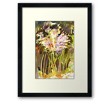 Surprise Lilies II A Portrait Framed Print