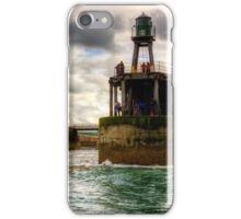 Whitby Harbour Entrance iPhone Case/Skin