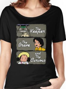 The Keeper, The Brave and The Curious Women's Relaxed Fit T-Shirt