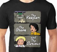 The Keeper, The Brave and The Curious Unisex T-Shirt