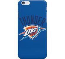 Oklahoma City Thunder 1 iPhone Case/Skin
