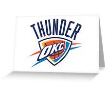 Oklahoma City Thunder 1 Greeting Card