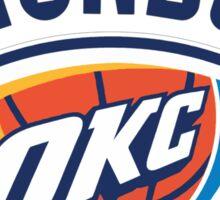 Oklahoma City Thunder 1 Sticker