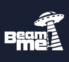 Beam me up V.3.1 (white) Baby Tee
