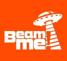 Beam me up V.3.1 (white) Kids Tee