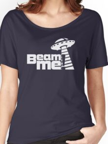 Beam me up V.3.1 (white) Women's Relaxed Fit T-Shirt