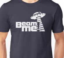 Beam me up V.3.1 (white) Unisex T-Shirt