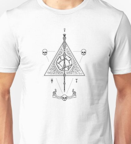 Deathly Hallows (White) Unisex T-Shirt