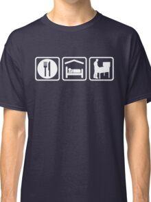 Funny Pinball Eat Sleep T Shirt Classic T-Shirt