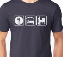 Funny Pinball Eat Sleep T Shirt Unisex T-Shirt