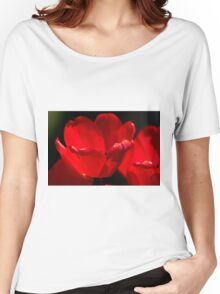 Tulips Too Close Women's Relaxed Fit T-Shirt