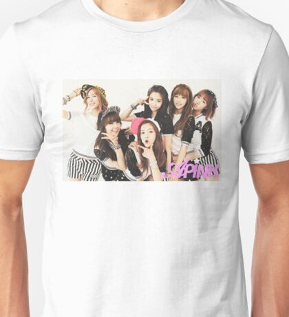 Apink Kpop Performance Outifits Unisex T-Shirt