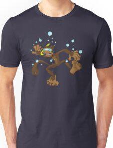 Ollie the Drowning Monkey Unisex T-Shirt