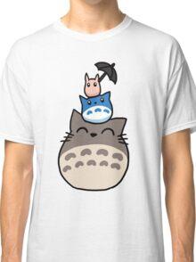 Trio Totoro Classic T-Shirt