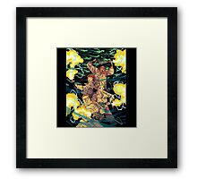Ghostbusters in action Framed Print