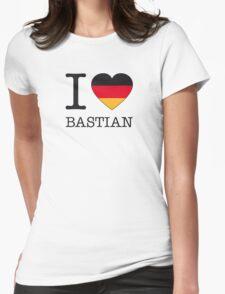 I ♥ BASTIAN Womens Fitted T-Shirt