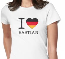 I ♥ BASTIAN Womens Fitted T-Shirt