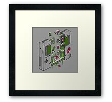 Game Boy Framed Print