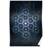 The Cube of Metatron Poster