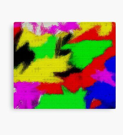 oil pastel Canvas Print