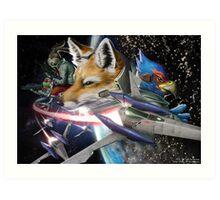 Star Fox Art Print