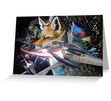 Star Fox Greeting Card
