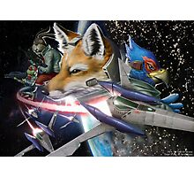 Star Fox Photographic Print
