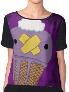 Drifloon ice cream cone Chiffon Top