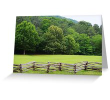 Wide Open Spaces Greeting Card