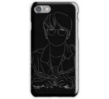 Park Jimin_Bangtan Boys_BTS_Sketch (White) iPhone Case/Skin