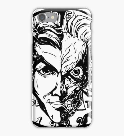 Harvey Dent/Two-Face Illustration iPhone Case/Skin