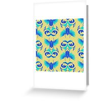 Ancient Scarabs Summer Greeting Card