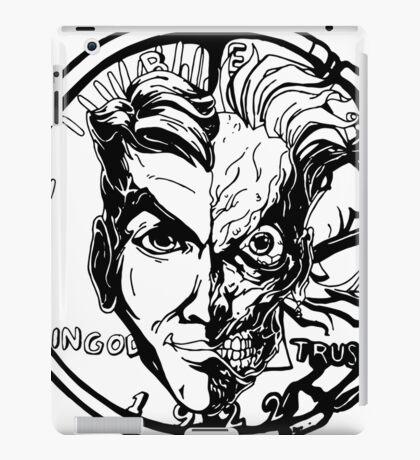 Harvey Dent/Two-Face Illustration iPad Case/Skin